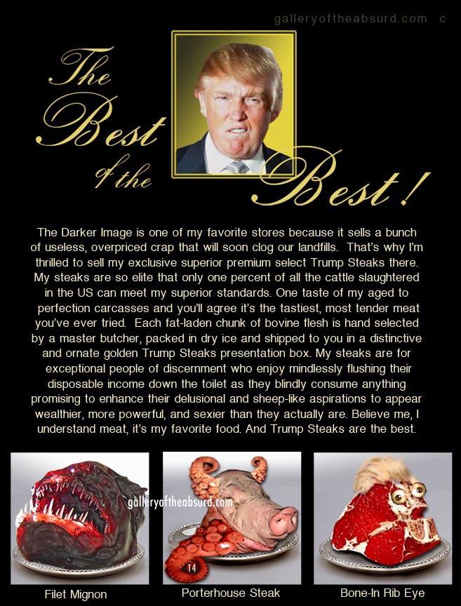 Trump Steaks The Trump Steaks Brochure