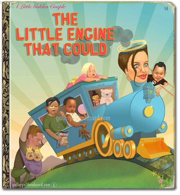 Gallery Of The Absurd Angelina Jolie As The Little Engine That Could