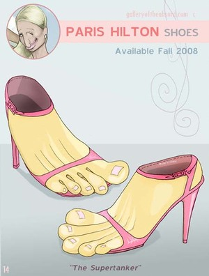 695647972cf350 Gallery of the Absurd  Now You Can Walk in Paris Hilton s Shoes