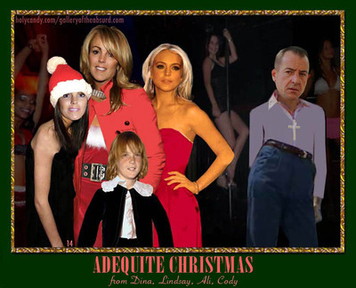 Gallery of the Absurd: Celebrity Family Photo Christmas Cards: The ...