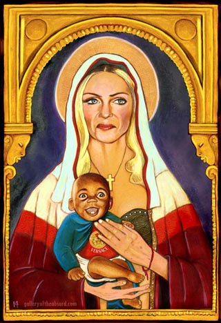 Madonna and African Orphan Accessory