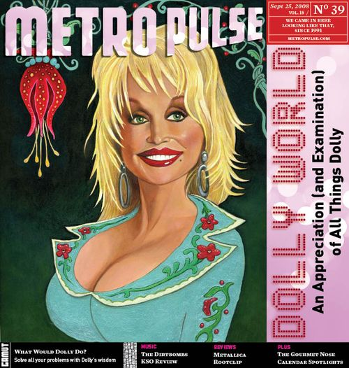 Cover Illustration for Metro Pulse, US