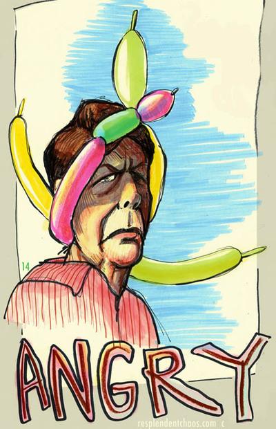 Angryballoonlady